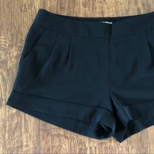 Express Cuffed Dress Shorts